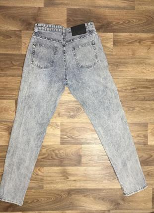Джинсы mom бойфренды штаны брюки с высокой посадкой6 фото