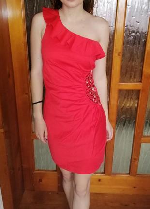 31769cb4a1a Красные короткие вечерние платья 2019 - купить недорого вещи в ...