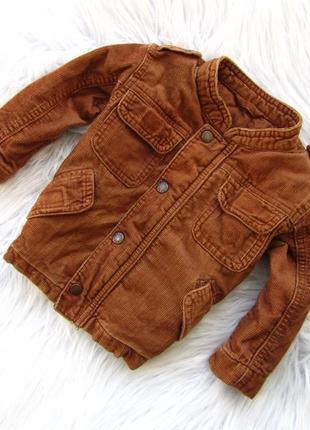 Стильная  демисезонная куртка с капюшоном mothercare