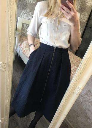 Блузка с карманами3 фото
