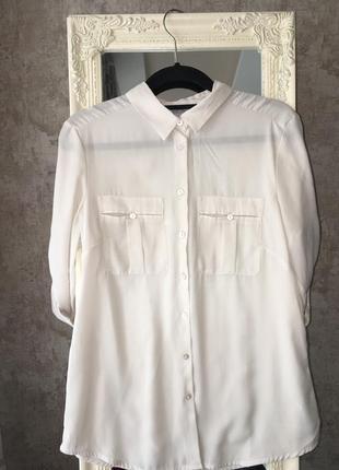 Блузка с карманами4 фото