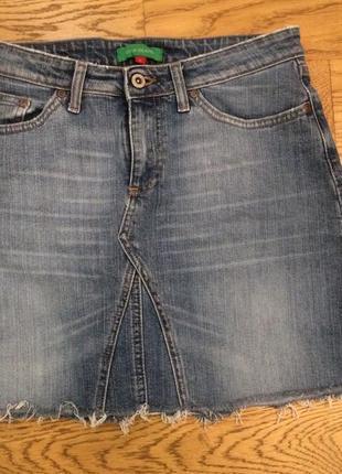 River island, продам джинсовую юбку