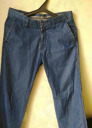 Легкие джинсы на лето. размер 48-50