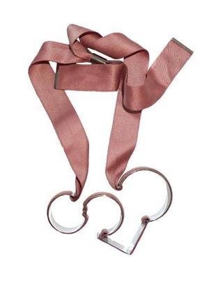 Ожерелье cos 170420191214 розового цвета