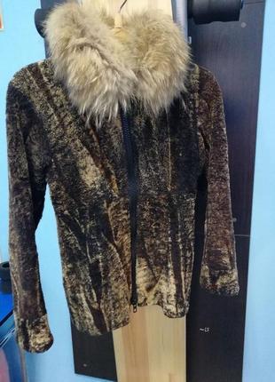 Стриженый мутон,короткая куртка,автовариант