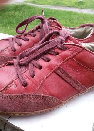 Кожанные туфли комфортные