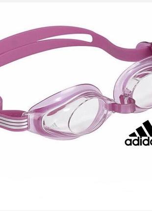 Очки для плавания adidas aquastorm junior {розовые}