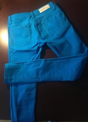 Яркие skinny джинсы