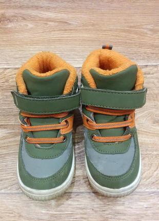Кроссовки на прохладную погоду стелька 16,5 см