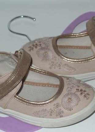 Красивые туфельки фирмы tu р 30-31