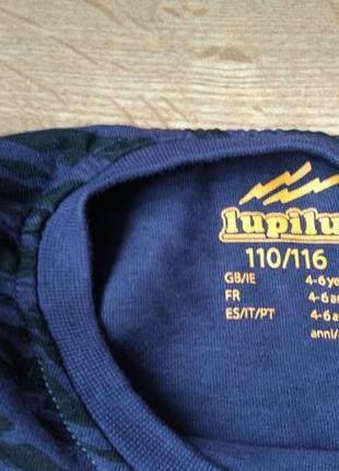 Оригинальный реглан лонгслив lupilu на 4-6 лет6 фото