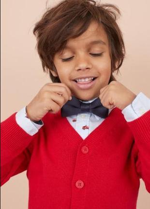 Красная кофта, свитер на 4-6 лет h&m