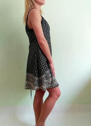 Лёгкий сарафан со шнуровкой2 фото