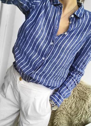 366d07a4d78 Женские рубашки в полоску Gina Tricot 2019 - купить недорого вещи в ...