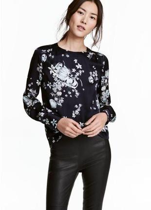 Блуза в цветочный принт zara zara