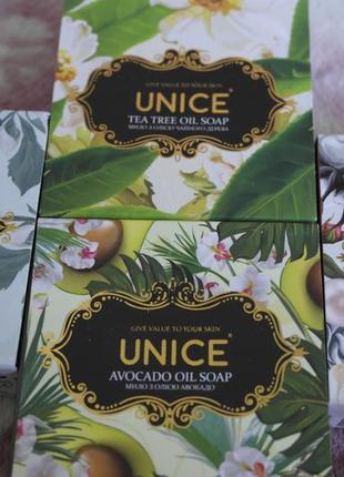 Натуральное мыло юнайс