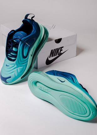 Шикарные кроссовки nike air max 720 blue4 фото