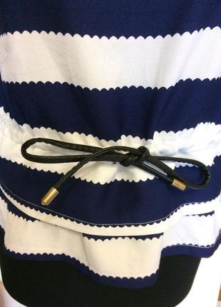 Блузка рубашка в полоску2 фото