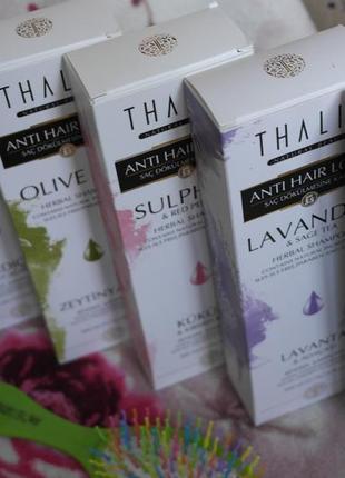 Шампунь против выпадения волос thalia, турция