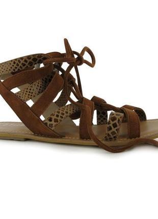 Женские сандали босоножки натуральная кожа в наличии англия оригинал