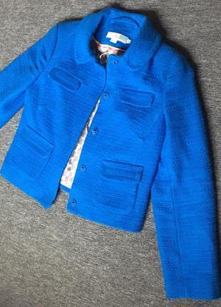 Стильный яркий пиджак от boden,размер s1 фото