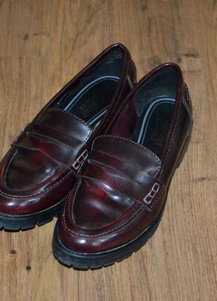 Р. 36 - 23 см. туфли лоферы. young spirit. закрытые туфли.