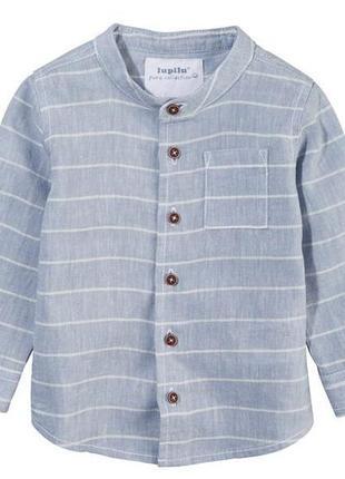 Классная и стильная рубашка для мальчика lupilu. р.56