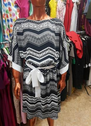 Легкое шифонофое платье