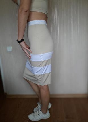 Костюм юбка-карандаш и топ