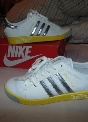 Кроссовки adidas forest hills кожа замша оригинал новые