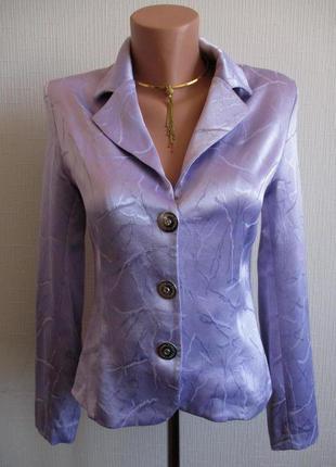 Атласный пиджак club donna