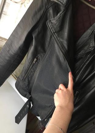 Ідеальна косуха, кожаная куртка , m-l7 фото
