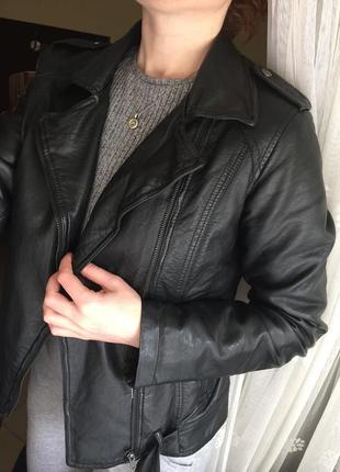 Ідеальна косуха, кожаная куртка , m-l8 фото