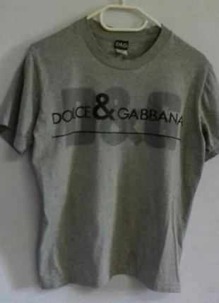Крутая футболка d&g