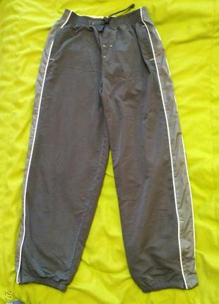 Спортивные брюки на трикотажной подкладке rebel р. 152