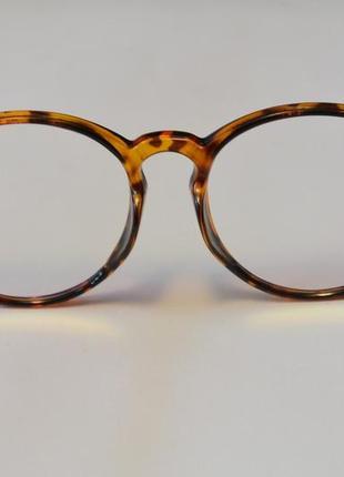 4-62 вінтажні окуляри для іміджу з прозорою лінзою очки для имиджа с прозрачной линзой7 фото