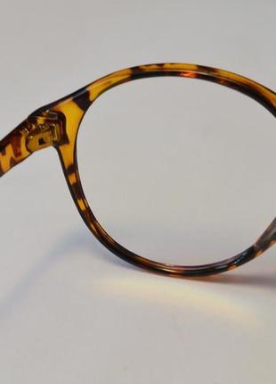 4-62 вінтажні окуляри для іміджу з прозорою лінзою очки для имиджа с прозрачной линзой5 фото