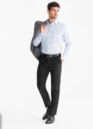 Мужские легкие брюки c&a angelo litrico р. м 48. сток. костюмные, классические, шерсть