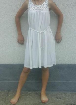 Очень нежное платья h&m