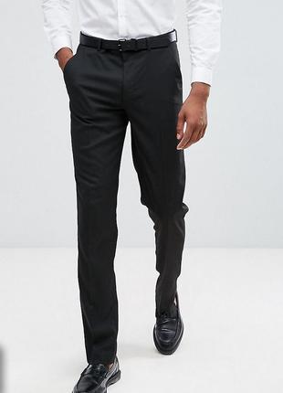 Мужские брюки primark cws р. 32 eu 48. состояние новых. костюмные, классические, зауженные