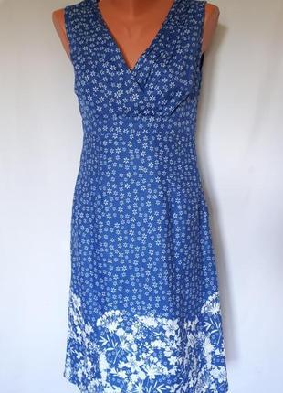 Льняное платье per una ( размер 36)