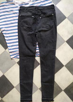 Классные брюки джинсы скинни скини от f&f2 фото