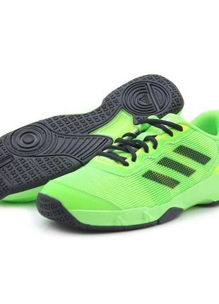 Кроссовки adidas stabil j lime-black aq6261