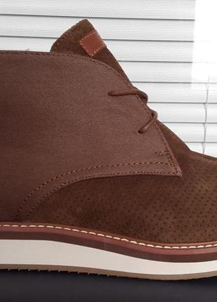Tommy hilfiger оригинал  кожаные ботинки