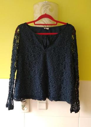 Кружевная блуза от hollister