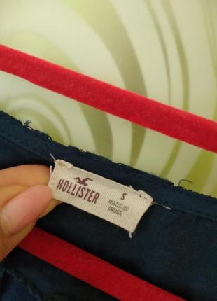 Кружевная блуза от hollister5 фото