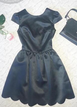 Чудесное черное вечернее платье для вашей принцессы xxs befree