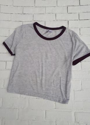 Укороченная футболка-топ2 фото