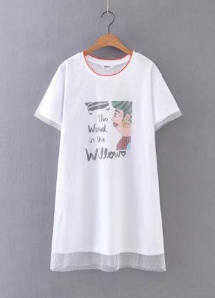 Женское платье футболка