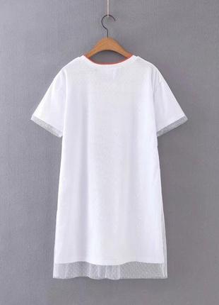 Женское платье футболка4 фото